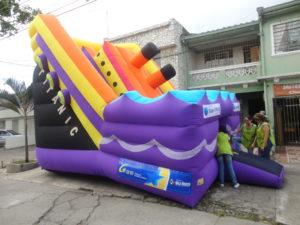 Escaladores inflables